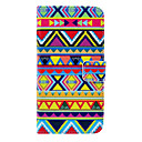 Tribal Carpet Pattern PU Leather Full Body Case with Card Slot for Samsung Galaxy S5 Mini