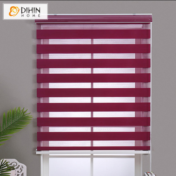 new arrival 15 colors customized zebra blinds rollor blind curtain easy to install curtains
