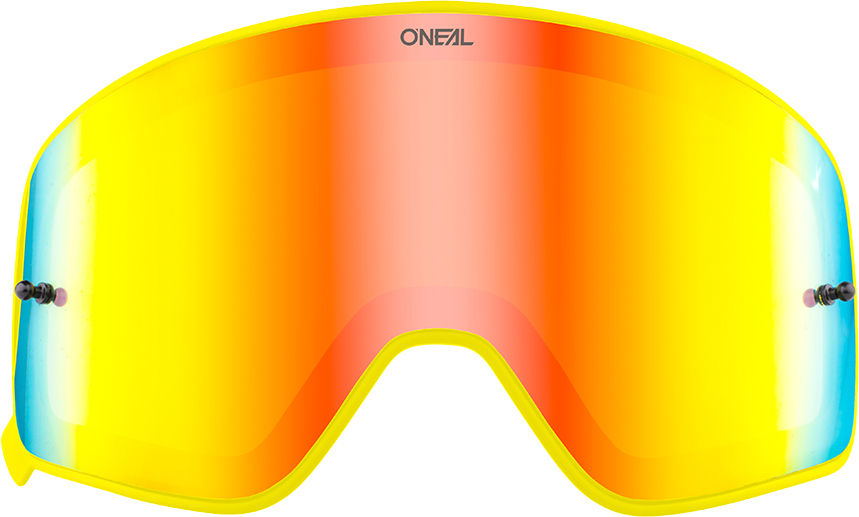Oneal B-50 Yellow Spare Lens, red, red, Size One Size