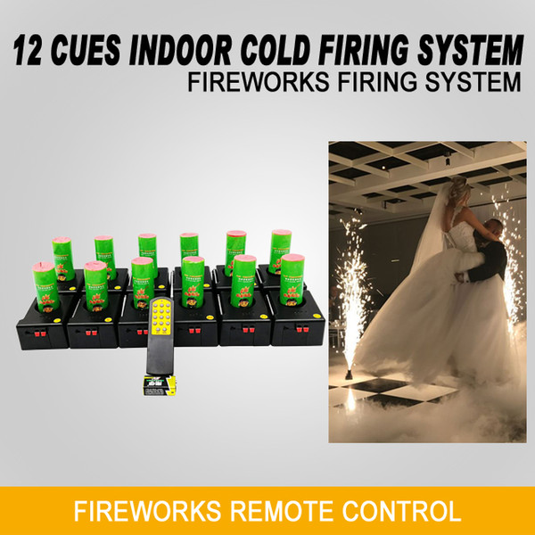 Liuyang Happiness Remote Stage Wireless 12 Cues Cold Fireworks Firing System