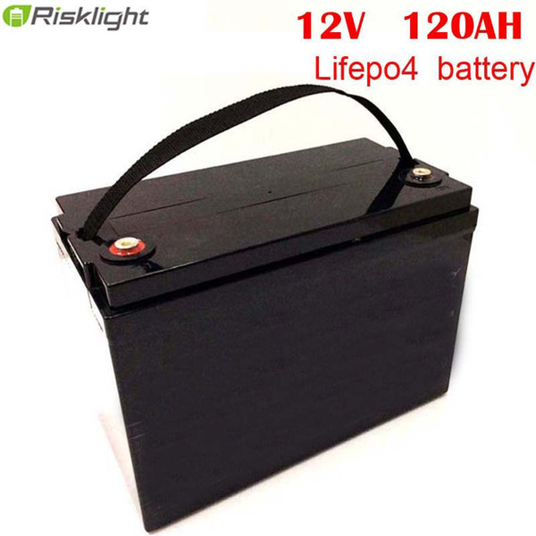 high capacity lifepo4 12v 120ah lithium ion battery pack for solar power system