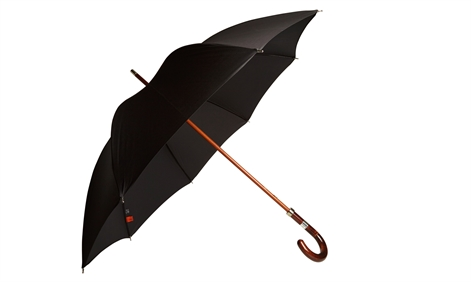 Made In London Wooden Shaft Umbrella