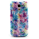 Dreaming Pineapple Pattern TPU Soft Back Cover for Samsung Galaxy S4 Mini I9190