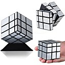 3X3X3 Silver Mirror Smooth Magic Puzzle Speed Cube Block Twist Toy Gifts Random Color