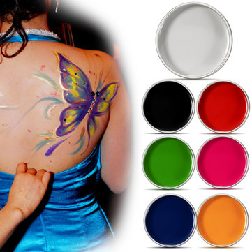 Body Art Painting Cream Facial Drawing Cosmetic Cosplay Halloween Paints 7 Colors