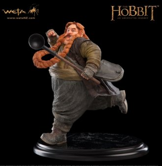 Bombur the Dwarf Polystone Statue from The Hobbit An Unexpected Journey