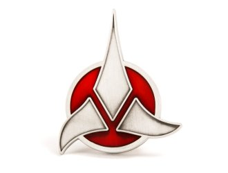 Klingon Emblem Badge Prop Replica from Star Trek