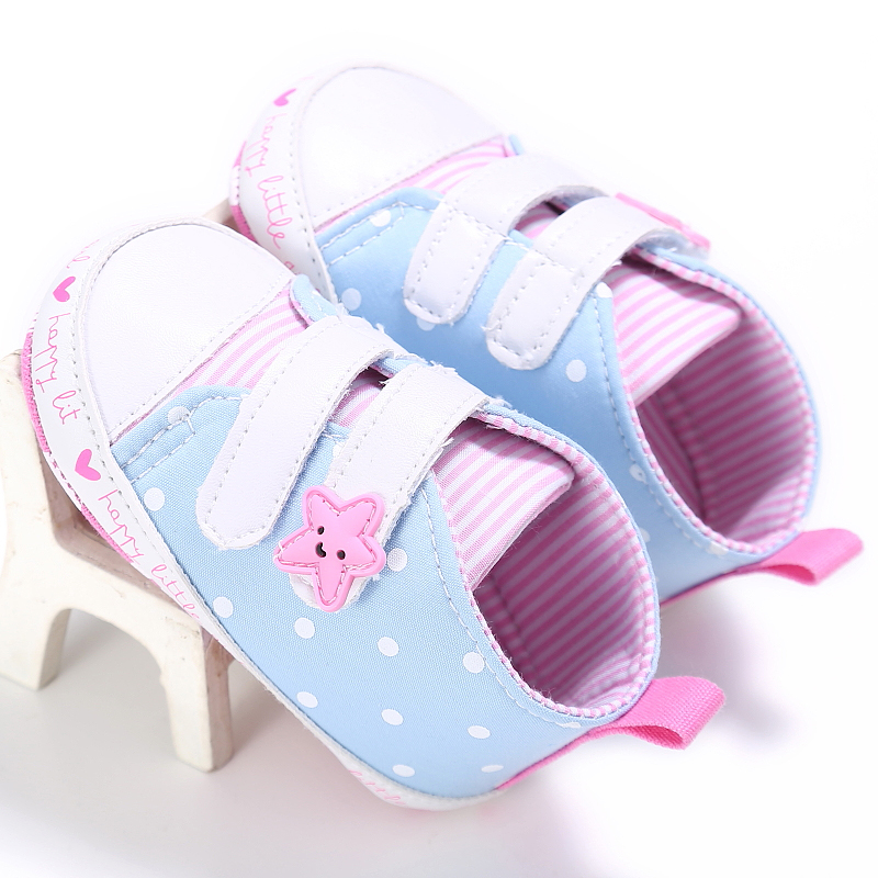 Baby / Toddler Trendy Striped Casual Velcro Canvas Shoes