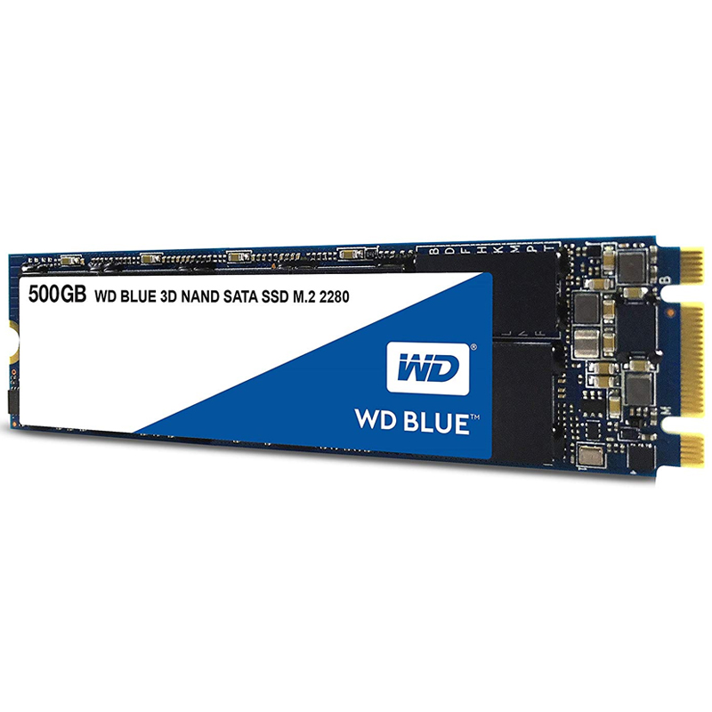 WD 500GB SSD Nand 3D Internal SATA III M.2 SSD - 6Gb/s