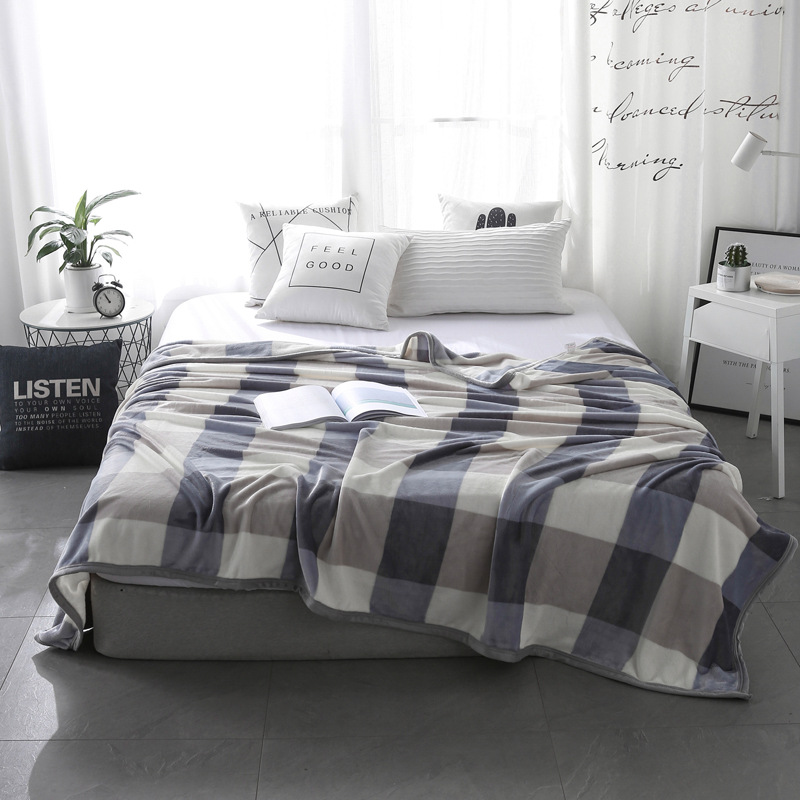 Soft Flannelette Home Blanket
