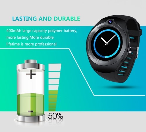 Smart Watch Phone GPS Position 2G 3G Network 1G+16G Fashion Casual Life Waterproof Front Camera Sport SIM Card Wristwatch for Android 5.1
