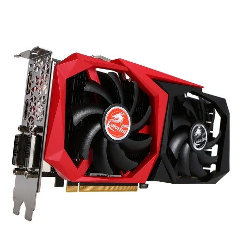 Colorful GTX1060 NB 3G Graphics Card 1544/1759MHz GDDR5 192bit PCI-E 3.0 VR Ready with HDMI DP DVI-D Port
