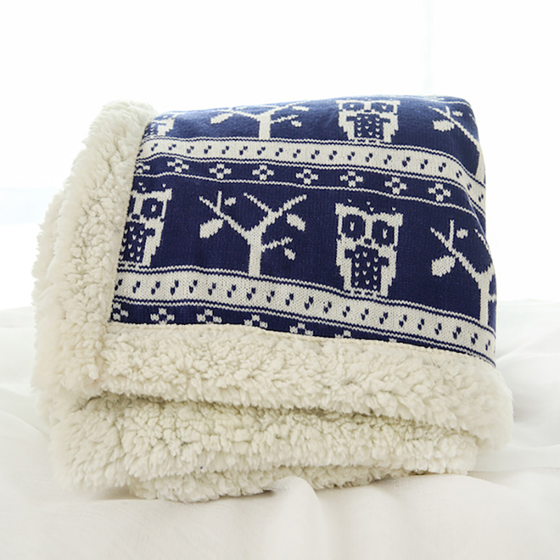 Printed Thick Plush Blanket