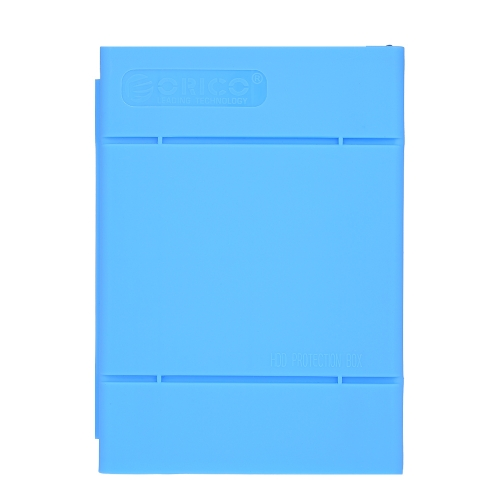 ORICO 3.5 inch Hard Drive Enclosure Protective Box SDD Storage Case HDD Anti-Static Carrying Case Blue