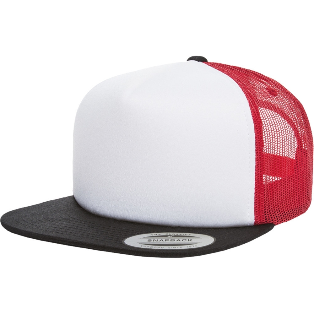 Flexfit by Yupoong Mens Foam Polyester Snapback Trucker Cap One Size