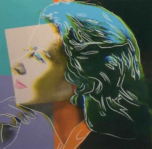 "andy warhol ""ingrid herself"" handpainted &hd print famous portrait art oil painting,wall art home decor on canvas p204"