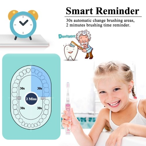 Seago Kids 3D Rotary Electric Toothbrush