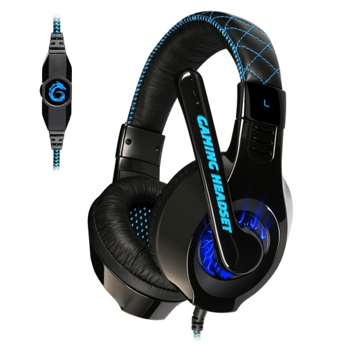 Somic G95 Esport Gaming Stereo Headset Over Ear USB Wired LED Light with Microphone