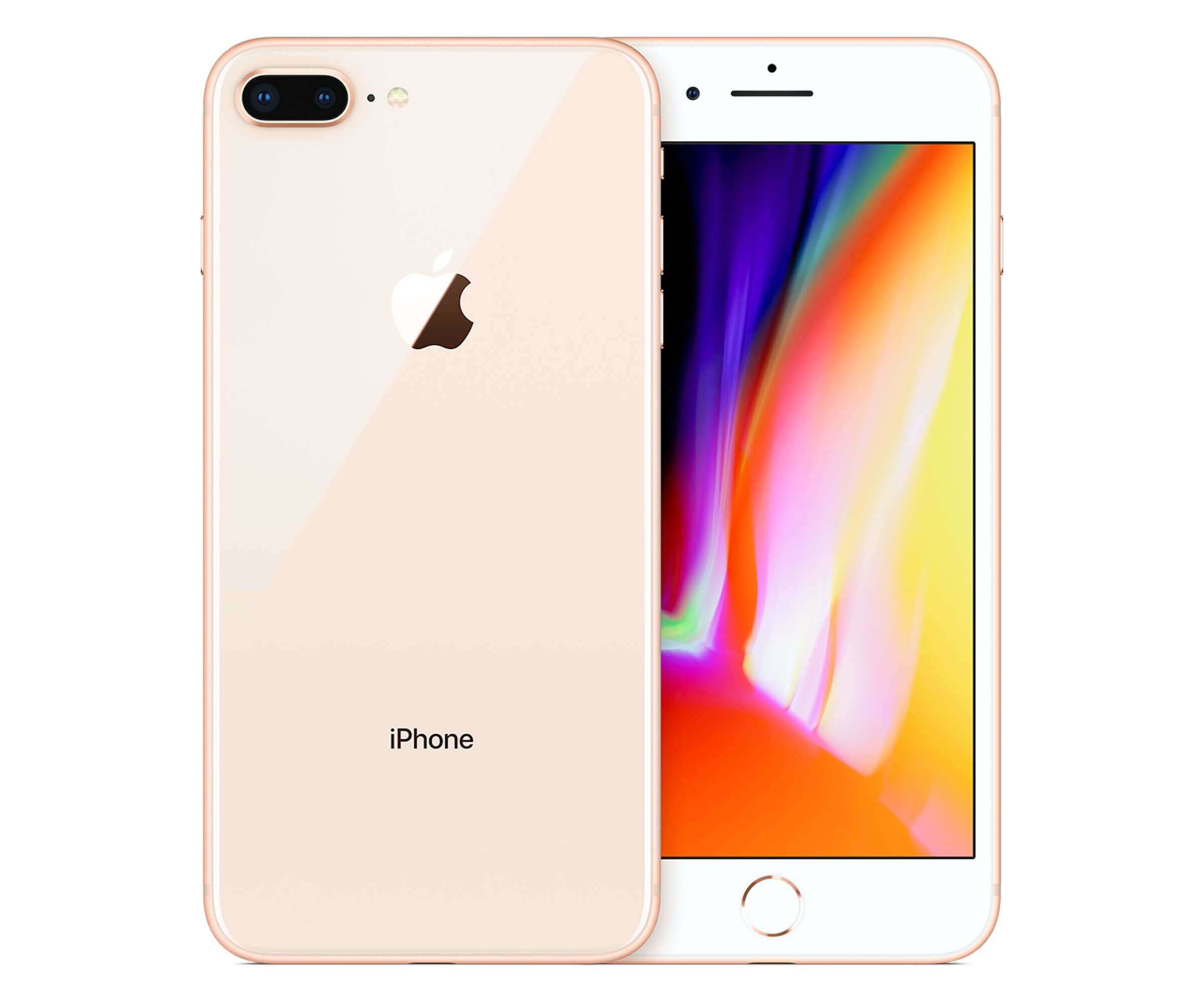 Apple iPhone 8 Plus - Smartphone - 4G LTE Advanced - 64 GB - GSM - 5.5
