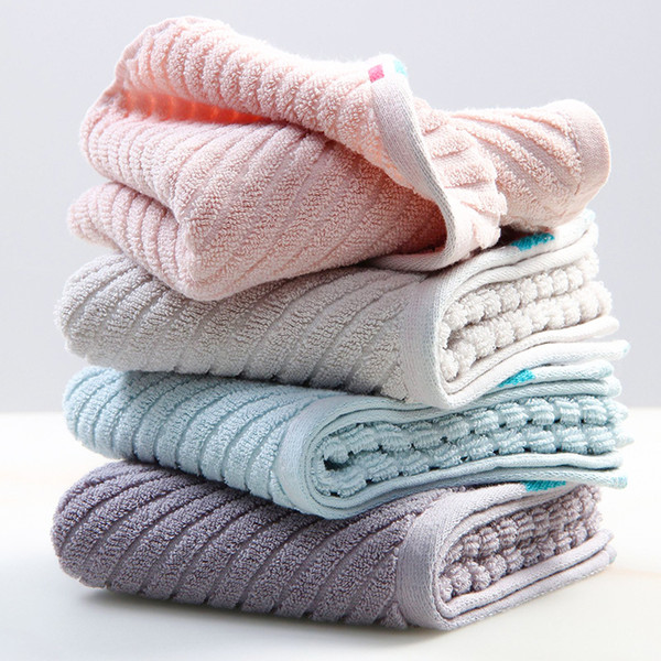 Super soft long stapled cotton face towel excellent water-absorbing quality towel