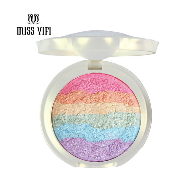 wholesale-new baked mars prism rainbow highlighter makeup palette cosmetic blusher shimmer powder iluminador maquiagem contour eyeshadow