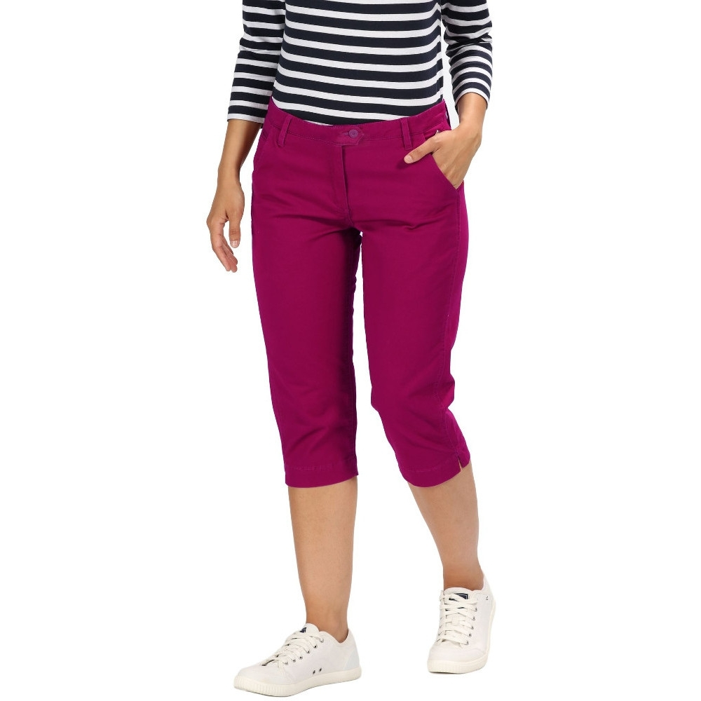 Regatta Womens Maleena Capri II Casual Walking Trousers 20 - Waist 38' (96cm)