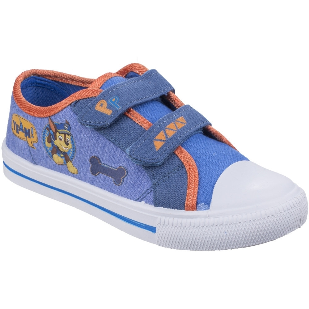 Leomil Boys & Girls Chase Lightweight Canvas Fashion Trainers Shoes UK Size 11 (EU 29)