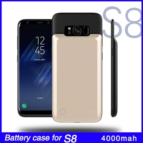 For Samsung S8 S8 Plus 4000mAh External Battery External USB Port Power Bank Charger Pack Backup Battery Case