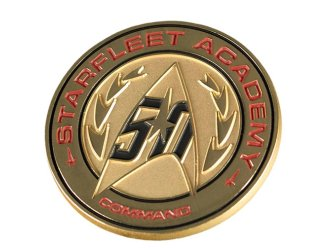 Star Trek 50th Anniversary Lapel Pin Prop Replica from Star Trek