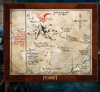 Thorin Oakenshield Map Prop Replica from The Hobbit The Desolation Of Smaug