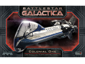 Colonial One Plastic Model Kit from Battlestar Galactica
