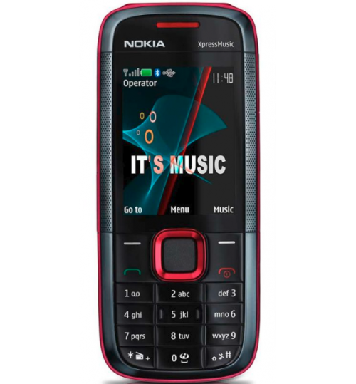 Nokia 5130 Xpress Music Blue Grade A Refurbished- GSM Unlocked