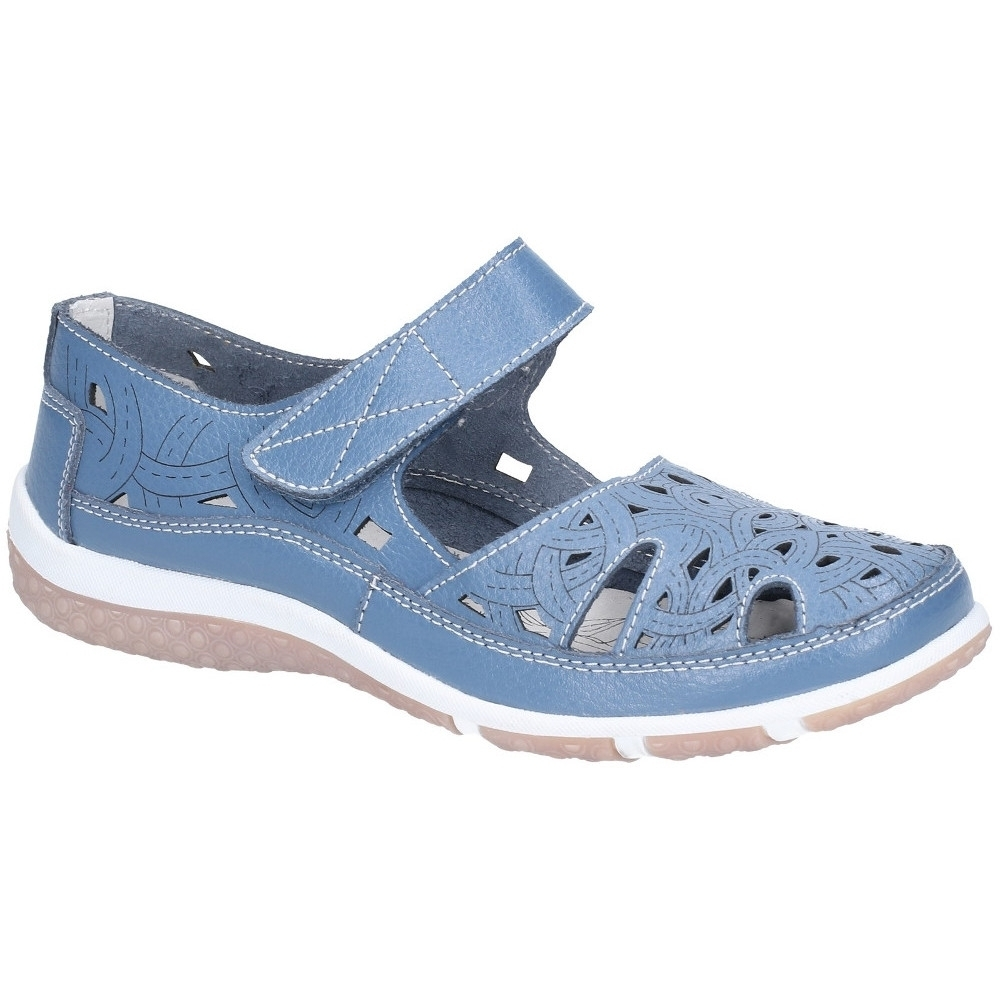 Fleet & Foster Womens Jasmine Light Mary Jane Summer Shoes UK Size 8 (EU 41)