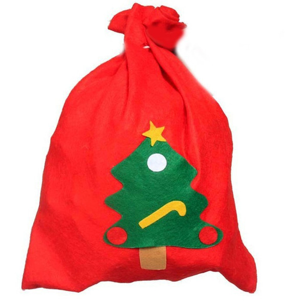 new xmas gifts christmas day decoration santa large sack stocking big gift bags ho ho christmas santa claus