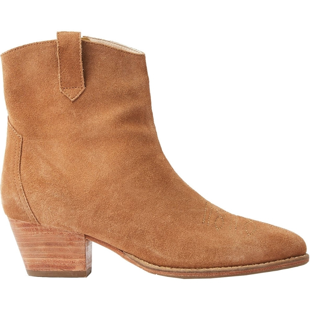 Joules Womens Elmwood Zip Up Leather Suede Ankle Boots UK Size 6 (EU 39  US 8)
