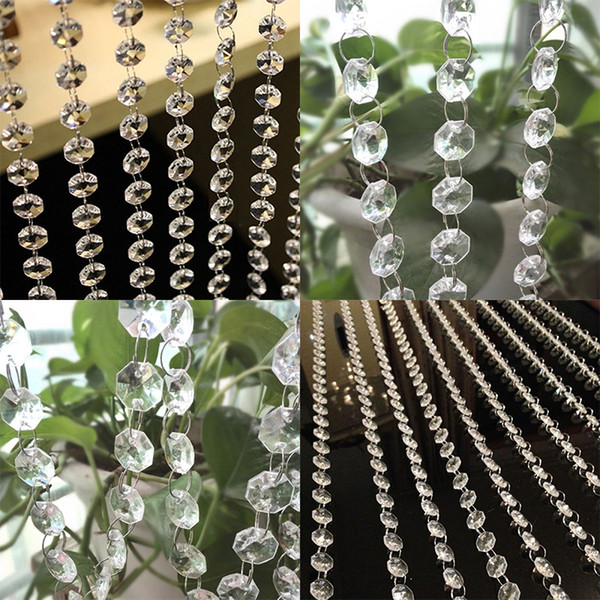 crystal curtain new 100cm crystal glass bead curtain living room bedroom window door wedding decor drop ship