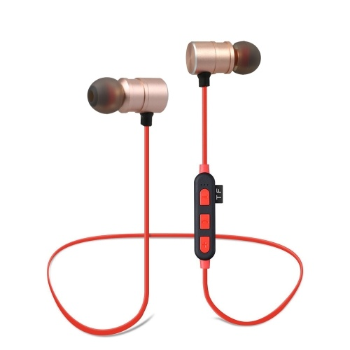 XT-5 Wireless BT In-ear Headphone Red