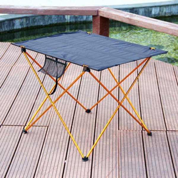 Portable Foldable Folding Table 4 to 6 People Desk Camping BBQ Hiking Traveling Outdoor Picnic Aluminium Alloy Ultra-light
