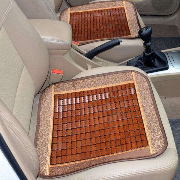 new arrival breathable bamboo sheet anti-skid summer car chair mat cushion seat protecter