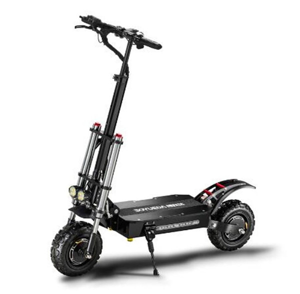 11 inch 60v 5400w electric scooter high speed off-road dual drive folding electric vehicle