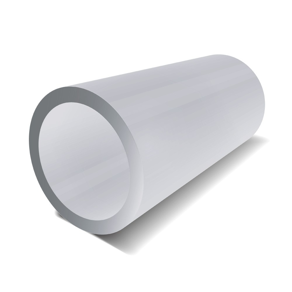 3 in x 1 in - Aluminium Round Tube - 2500 mm