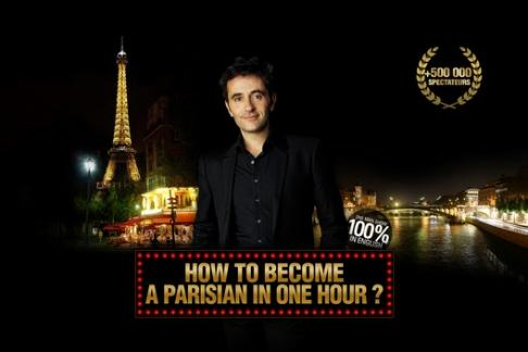 French Arrogance Production - SHOW: How to become a Parisian in one hour? Seating Premium Orchestra