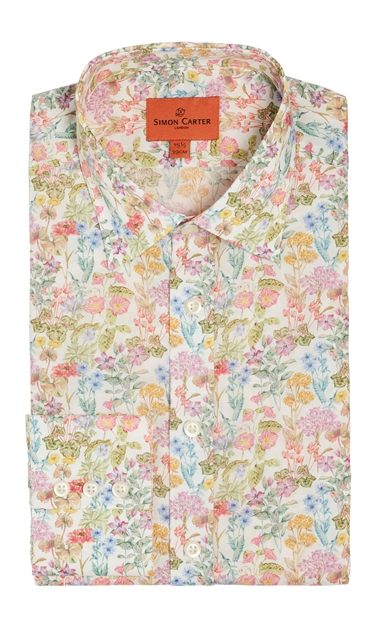 Liberty Poet's Meadow Romantic Floral Study Shirt