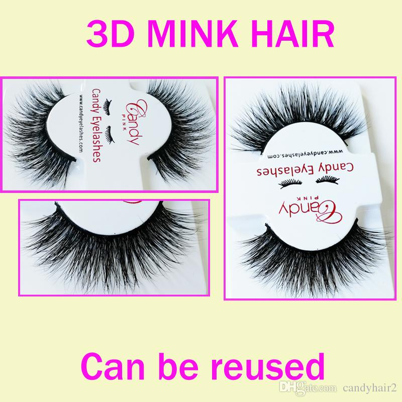 3D Long Thick Hot Women Lady Black winged 3D Hair Thick Long Fake Eye Lashes Long Lasting Lashes Thick real softest eyelashes GR248