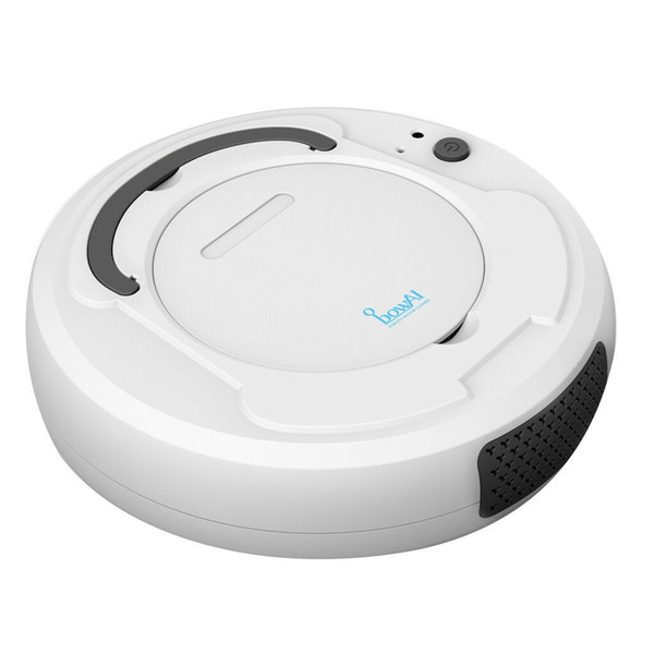 robot vacuum cleaner sweep&wet mop simultaneously for hard floors&carpet run 120mins before automatically charge