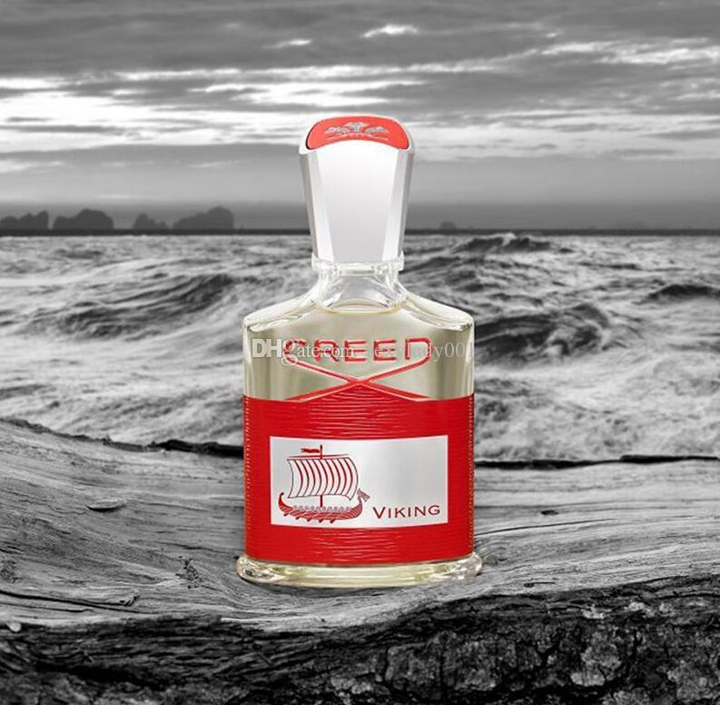 NEW hot Red Creed Viking perfume for men long lasting time high quality amazing smell fragrance Free fsat Shipping 100ml