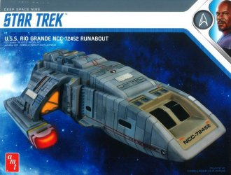 Rio Grande Runabout Plastic Model Kit from Star Trek Deep Space 9