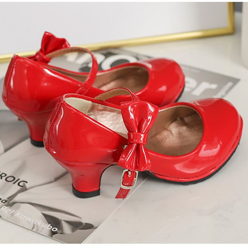 Elegant Bowknot Decor High-heeled Shoes