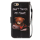 Case For Apple iPhone 6 Plus / iPhone 6 Wallet / Card Holder / with Stand Full Body Cases Word / Phrase Hard PU Leather for iPhone 6s Plus / iPhone 6s / iPhone 6 Plus
