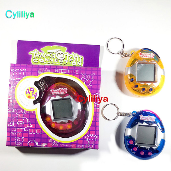 dinosaur egg tamagotchi virtual digital electronic pet game machine tamagochi toy game handheld mini funny virtual pet machine toys